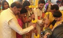 Nithin and Shalini's Engagement