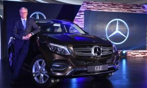 Mercedes-Benz GLE features a new seven-inch Comand infotainment system.
