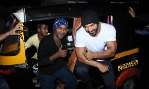 Bollywood actor John Abraham visits Gaiety Galaxy theatre to promote his film Dishoom.