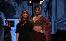 Bollywood actress Ileana D'Cruz shines at Lakme Fashion Week 2016.