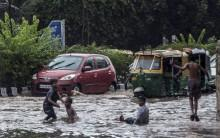 At least seven people were killed as heavy rains lashed Hyderabad on Wednesday morning, officials said.