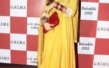 Shilpa Shetty Kundra at Baisakhi 2015 celebration at Khalsa College in Mumbai