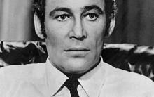 Peter O'Toole at the start of his acting career.