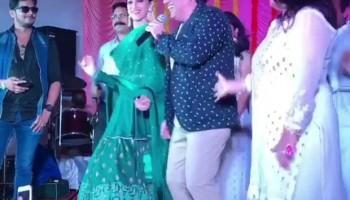 Kriti Sanon dances with Govinda,Govinda,Kriti Sanon,actress Kriti Sanon,actor Govinda