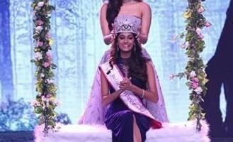 Femina Miss India 2018,Miss India 2018,Anukreethy Vas miss india,Who is Anukreethy Vas,Anukreethy Vas instagram,Anukreethy Vas photos