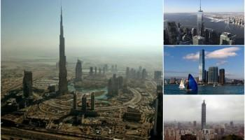 Tallest skyscrapers,tallest buildings in the world,worlds tallest building,Burj Khalifa tallest building,Burj Khalifa,One World Trade Centre,which is the tallest building