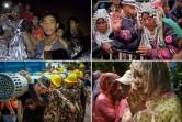 Rescue workers in Thailand have retrieved more boys from among the group of 12 and their soccer coach who have been trapped for more than two weeks in a flooded cave complex, a navy official said on July 9, hours after the rescue mission resumed. Photos from the scene show relieved officials, celebrations from relatives and local schoolchildren, and a number of religious ceremonies.