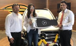 Sophie Choudry buys Mercedes-Benz GLC SUV worth Rs 54 Lakh