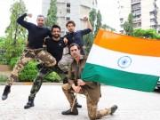 Paltan star Arjun Rampal, Sonu Sood and Gurmeet Choudhary celebrate Independence Day