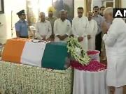 Atal Bihari Vajpayee funeral: Modi, Sonia Gandhi, Ram Nath Kovind, MK Stalin and others pay tribute to former Prime Minister