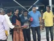Captain Vijayakanth pays respect at Karunanidhi's memorial at Marina
