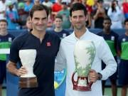 Novak Djokovic beats Roger Federer in Cincinnati 2018 final