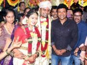 Puneeth Rajkumar at Pavan Wadeyar and Apeksha Purohith wedding