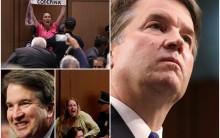Brett Kavanaugh's U.S. Supreme Court Hearings Interrupted