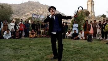 Afghanistan,charlie chaplin afghanistan,karim asir,afghanistan attack,joker,Afghanistan blast,Afghan Taliban,Afghanistan war