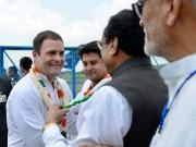 Rahul Gandhi arrives in Bhopal to kick-start the poll campaign with the Congress Sankalp Yatra