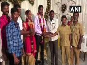 Groom receives 5 litres petrol as a wedding gift in Tamil Nadu