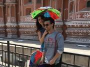 Aayush Sharma and Warina Hussain visit Jal Mahal and Hawa Mahal in Jaipur for Loveyatri promotions